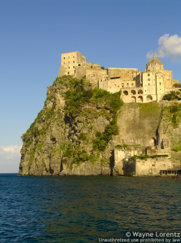 Stock photo of Aragonese Castle of Ischia, Ischia Ponte